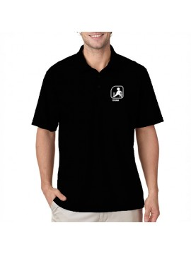 Team Cricket Polo Black